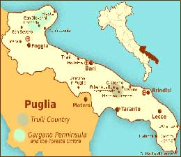 HOLIDAYS IN PUGLIA - SOUTH ITALY